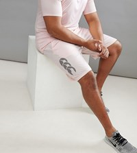 Canterbury Of New Zealand Plus Vapordri Shorts In Pink Exclusive To Asos Pink