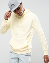 Antioch Towelling Hoodie Yellow