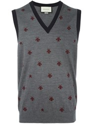 Gucci Bee Tank Top Grey