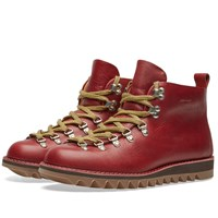 Fracap M120 Ripple Sole Scarponcino Boot Burgundy