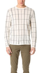 Theory Vernnon New Sovereign Sweater Parchment Multi