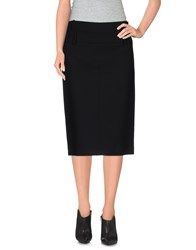 Gunex Skirts Knee Length Skirts Women Black