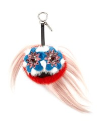 Fendi Blossy Bag Bugs Charm For Handbag Multi