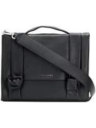 Orciani Satchel Handbag Black