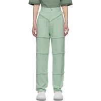 Ambush Green High Waisted Jeans