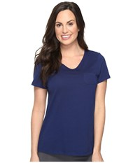 Jockey Short Sleeve Tee Galaxy Blue Women's Pajama