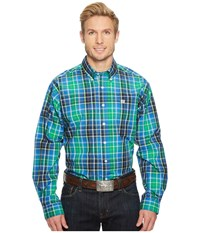 Cinch Long Sleeve Plain Weave Print Multicolored Clothing
