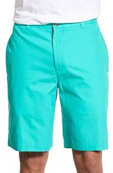 Vineyard Vines Men's 'Summer' Flat Front Twill Shorts Aquinnah Aqua