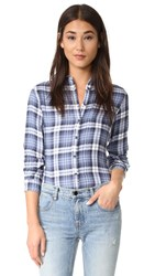 Dl1961 Mercer And Spring Shirt Double Herringbone Plaid