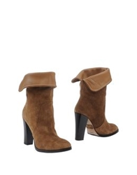 Rose Ankle Boots Camel