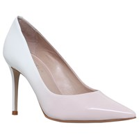 Carvela Alison Pointed Toe Stiletto Court Shoes White