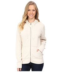 Carhartt Meadow Zip Front Hoodie Warm Oatmeal Heather Women's Sweatshirt Bone