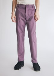 Noon Goons Club Pant In Plum Size 30 100 Cotton