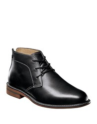 Florsheim Doon Leather Chukka Boots Black
