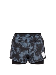Satisfy Long Distance 3 Shorts Blue