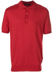 Billionaire Chad Polo Shirt Red