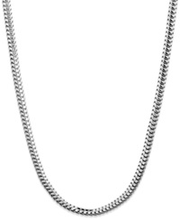 Giani Bernini Sterling Silver Necklace 20' Round Snake Chain Necklace