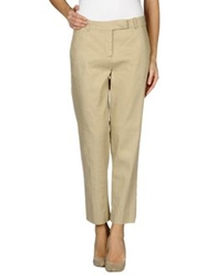Paolo Pecora Donna Casual Pants Beige