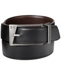 Under Armour Reversible Faux Leather Golf Belt Black Brown