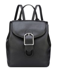Anne Klein Leather Backpack Optic White