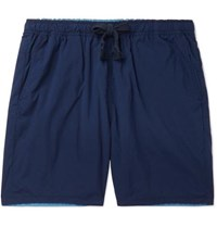 Remi Relief Reversible Shell Drawstring Shorts Navy