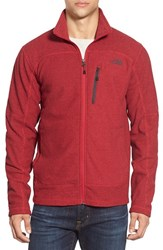 The North Face Men's 'Texture Cap Rock' Fleece Jacket Tnf Red