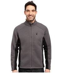 Spyder Foremost Full Zip Heavy Weight Core Sweater Polar Black Men's Sweater