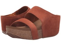 Volatile August Whiskey Women's Wedge Shoes Brown