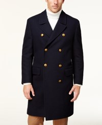 Tallia Navy Double Breasted Topcoat