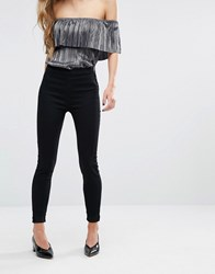 Miss Selfridge Black Jegging Black