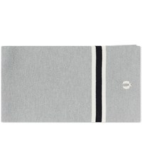 Fred Perry Merino Wool Scarf Grey