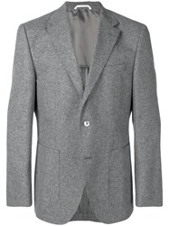 Hugo Boss Weave Blazer Grey