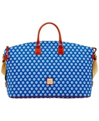 Dooney And Bourke Chicago Cubs Weekender Blue