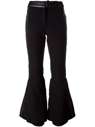 Adidas By Stella Mccartney 'Wintersport' Flared Trousers Black