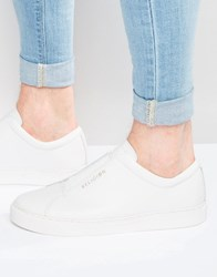 Religion Leather Trainers White