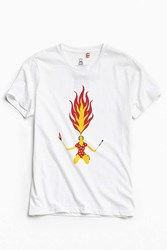 Tee Library Fire Breathing White