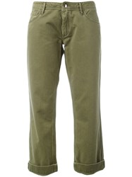 The Seafarer Straight Leg Chinos Green
