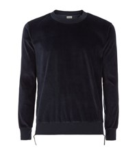 Paul Smith Velvet Side Zip Sweater Male