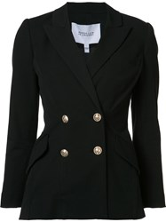 Derek Lam 10 Crosby Double Breasted Jacket Black