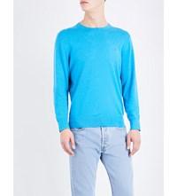 Tommy Hilfiger Crewneck Knitted Jumper Bluejay Heather