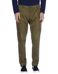 Have A Nice Day Casual Pants Military Green