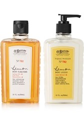 C.O. Bigelow Lemon Body Lotion And Cleanser Set One Size Colorless