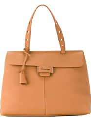 Myriam Schaefer 'Lord' Tote Bag Brown