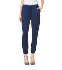 Michael Kors Cargo Track Pants Prussian Blue