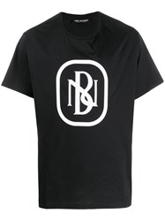 Neil Barrett Nb Logo Print T Shirt 60
