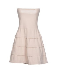 D.Exterior Short Dresses Light Pink