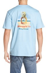 Tommy Bahama Men's Big And Tall Pineapple Tv Graphic T Shirt