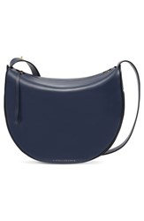 Victoria Beckham Leather Swing Bag Blue Navy