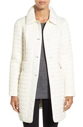 Kate Spade Women's New York Water Resistant Quilted Down Coat