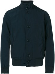 Woolrich 'Giubbotto Club' Jacket Men Cotton Polyamide Polyester M Black